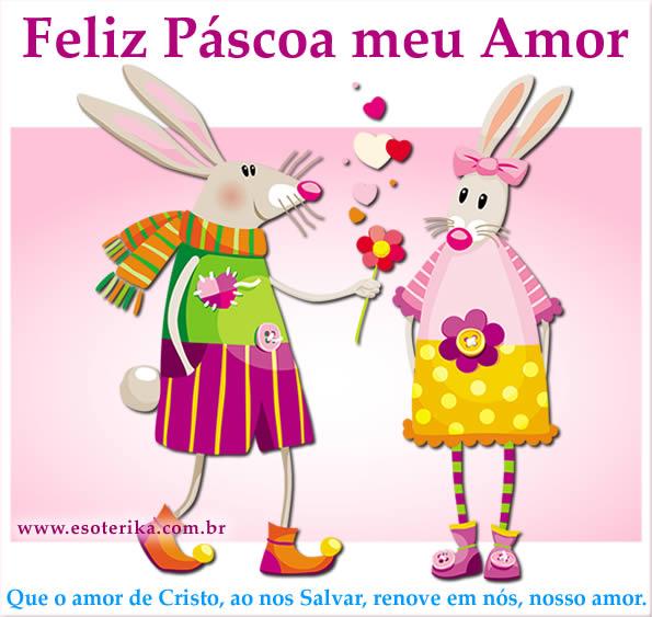 Feliz Páscoa meu Amor