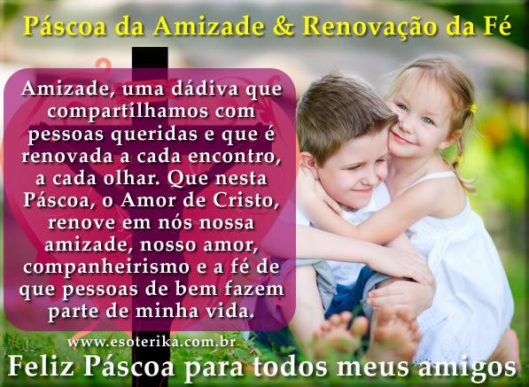 Mensagem De Páscoa Para Amigos Whatsapp E Facebook