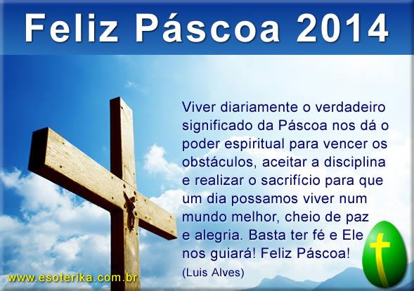 feliz páscoa 2014
