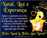 Cartão de Natal - Boas Festas e Próspero Ano Novo
