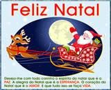 cartão de natal e boas festas