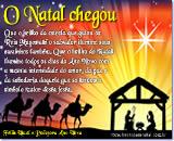 Cartão de Natal Virtual - O Natal Chegou para iluminar