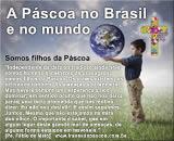 como é comemorada a páscoa no Brasil e no mundo