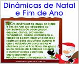 Dinamicas de Natal e fim de ano