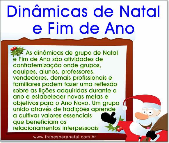 Dinâmicas De Natal Dinâmicas Fim De Ano Como Fazer Dicas Exemplos