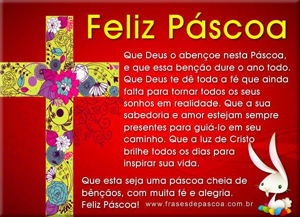 Feliz Páscoa Frases