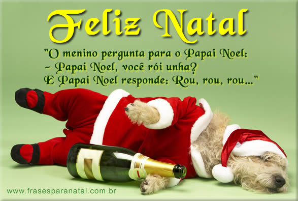 Frases De Natal Engraçadas Imagens De Natal Engraçadas Mensagens