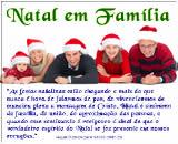 frases de natal para família com imagens para facebook