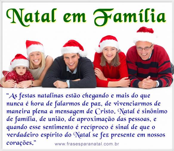 Frases De Natal Para Família Textos De Natal Em Família