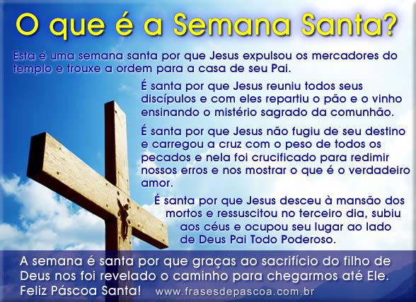 Frases de Semana Santa