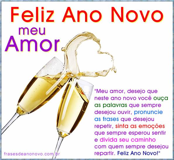 Mensagem De Ano Novo Para Namorado Ou Namorada Feliz Ano Novo Meu Amor
