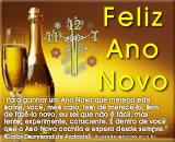 mensagem de ano novo de Carlos Drummond de Andrade