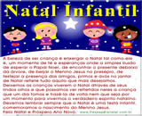 dizeres de natal, mensagem de natal infantil