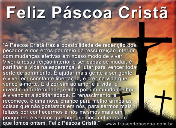 mensagem de páscoa cristã