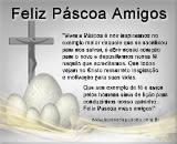 Mensagem de Feliz Páscoa para Amigos - Com SOM