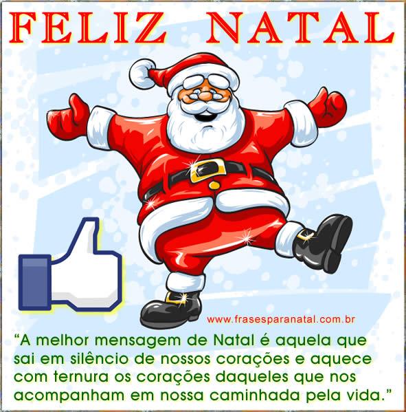 mensagens de natal para facebook e redes sociais