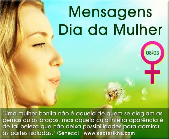 Mensagens Dia da Mulher 8 de março
