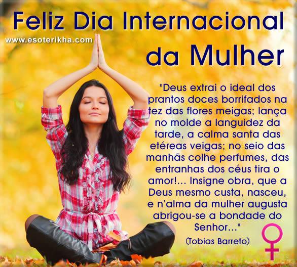 Mensagens dia internacional da mulher