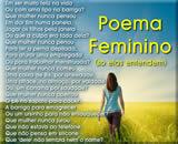 poema feminino para o dia da mulher