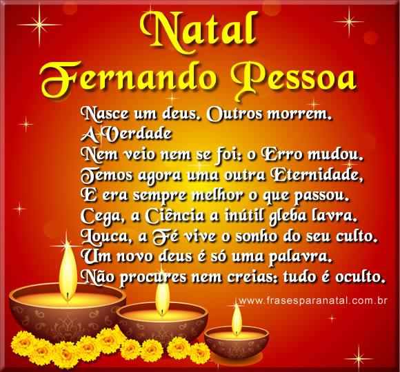 poemas de natal e ano novo de Fernando Pessoa