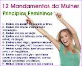 poema os 12 mandamentos da mulher, dia da mulher