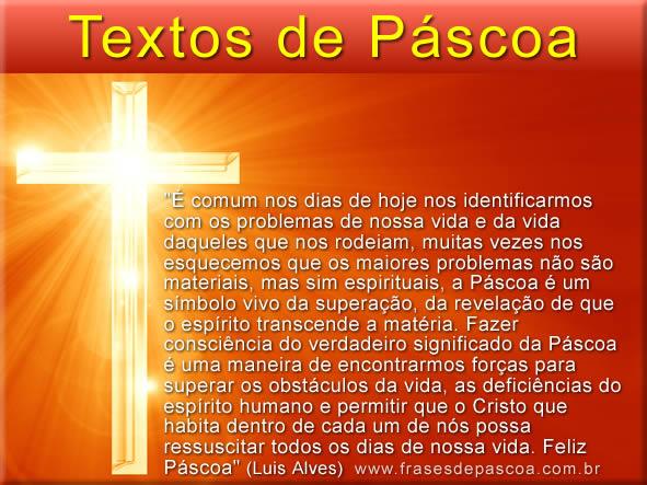 textos de páscoa